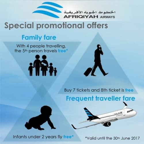 afriqiyah airways offers