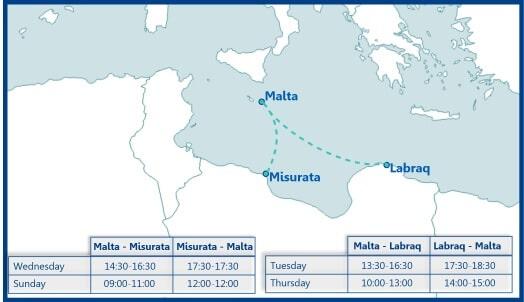 flights to misturata labraq